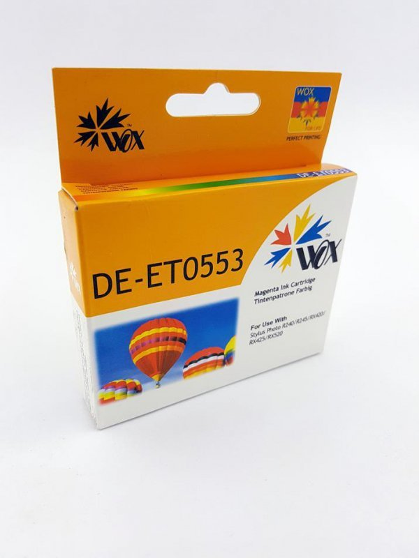 Tusz Wox Magenta EPSON T0553 zamiennik C13T05534010