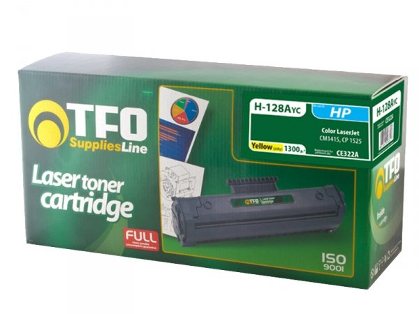 Toner TFO H-128AYC zamiennik HP 128A Yellow CE322A