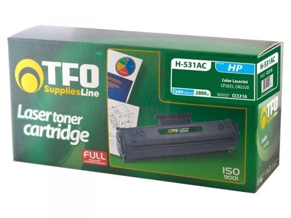 Toner TFO H-531AC zamiennik HP 304A Cyan CC531A