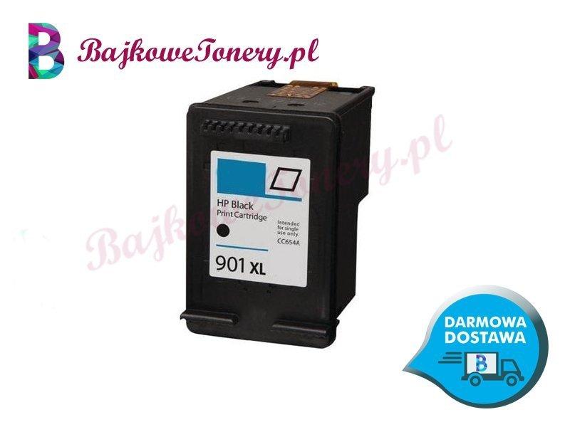 HP 901XL CZARNY CC654AE Zabrze www.bajkowetonery.pl