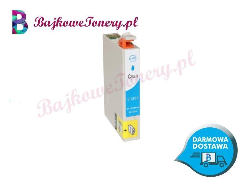 Zamiennik Epson T1282 Cyan Niebieski Zabrze www.BajkoweTonery.pl