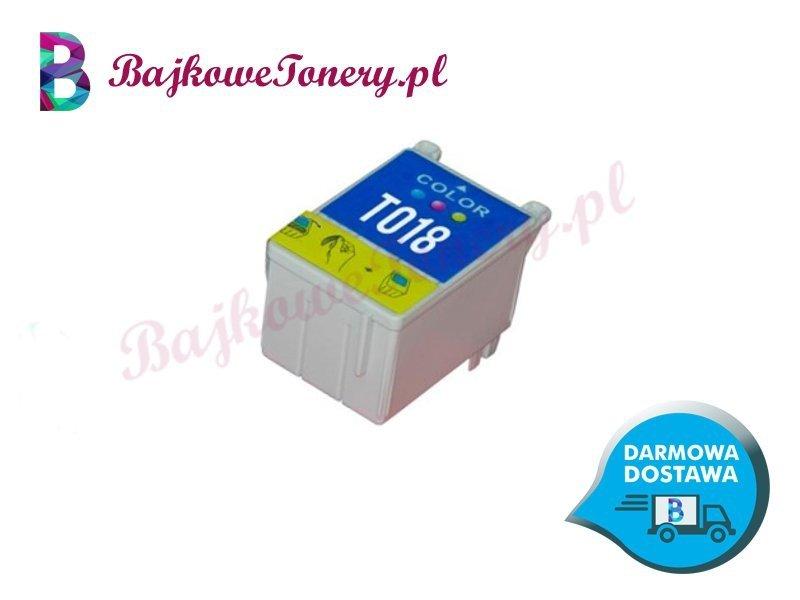 EPSON T018 Trójkolorowy Zabrze www.bajkowetonery.pl