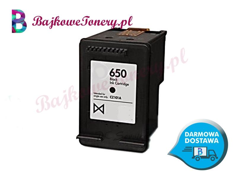 HP 650 CZARNY CZ101AE Zabrze www.bajkowetonery.pl