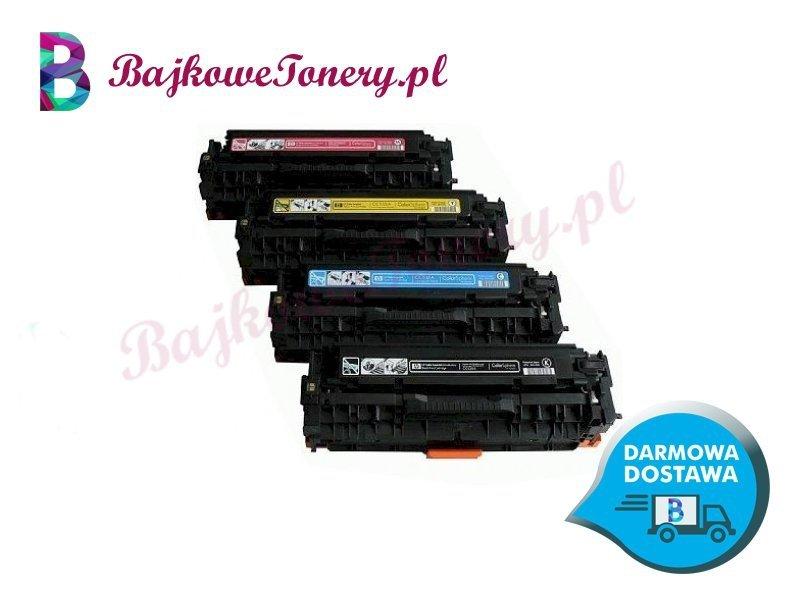 Toner premium zamiennik do hp cc532a, 32a, żółty, cp2025, cm2320