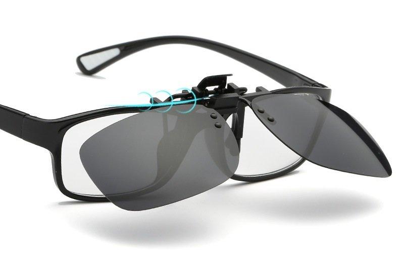 ffd836036d50 Nakładki polaryzacyjne na okulary korekcyjne - czarne - Stylion.pl