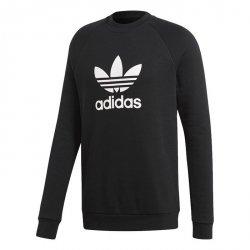 Adidas Originals czarna bluza męska Trefoil Crew CW1235