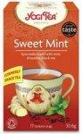 YOGI TEA bio herbata czarna MIĘTA 17szt