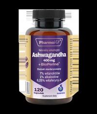 Ashwagandha + BioPerine® 120 kaps Pharmovit