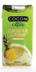 COCOMI bio woda kokosowa ANANASOWA 330ml