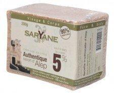 SARYANE mydło oliwno-laurowe 5% ALEPPO 200g