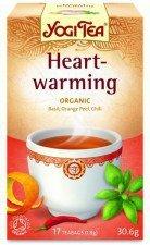 HERBATKA ROZGRZEWAJĄCA BIO  Heartwarming (17 x 1,8 g) - YOGI TEA
