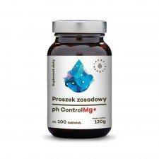 AURA proszek zasadowy pH CONTROL Mg+ TABLETKI 100szt
