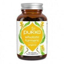 PUKKA bio tabletki kurkuma TURMERIC 60szt