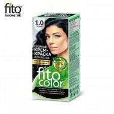 FITOCOLOR farba do włosów 1.0 CZARNA