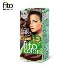 FITOCOLOR farba do włosów 4.36 MOKKA