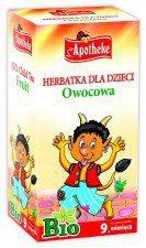 APOTHEKE bio herbata dla dzieci OWOCOWA 20x2g