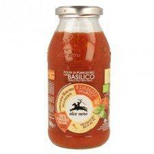 ALCE NERO bio sos pomidorowy BAZYLIA 500g
