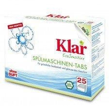 KLAR tabletki myjące ZMYWARKA 25szt