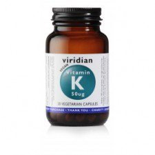 VIRIDIAN naturalna witamina K 30szt