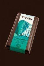 VIVANI bio czekolada nadziewana MIĘTA PIEPRZOWA  100g