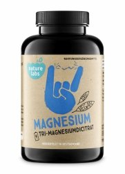 Magnez (Cytrynian Magnezu) 690 mg 180 wege kaps Nature Labs