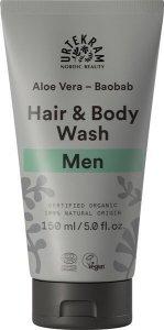 MEN Płyn do mycia włosów i ciała z aloesem i baobabem