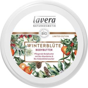 Masło do ciała ZIMOWY KWIAT z bio-mandarynką i bio-cukrem kokosowym Lavera