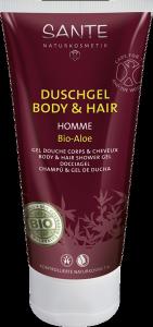 HOMME Szampon do włosów i ciała z bio-aloesem