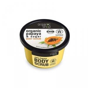 Peeling do ciała oczyszczający Soczysta Papaja 250 ml