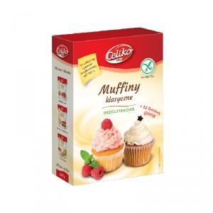 Muffiny klasyczne bezglutenowe 289 gCeliko