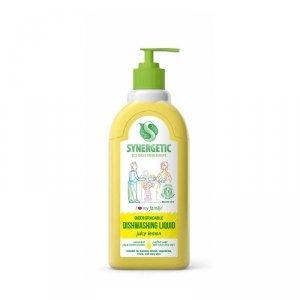 Żel do mycia naczyń biodegradowalny Cytrynowy 0,5 LSynergetic