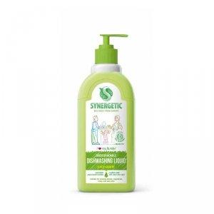 Żel do mycia naczyń biodegradowalny Zielone jabłuszko 0,5 LSynergetic