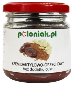 KREM DAKTYLOWO-ORZECHOWO-KAKAOWO-POMARAŃCZOWY BIO 200 ml - POLONIAK