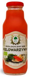SOK WIELOWARZYWNY BIO 270 ml - DARY NATURY