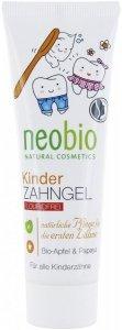 Żel do zębów dla dzieci z bio-jabłkiem i papają Neobio