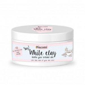 Naturalna glinka biała (kaolin) - nawilżająca i łagodząca 100 ml Nacomi