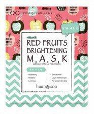 HUANGJISOO maska rozjaśniająca RED FRUITS