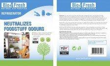 BIO4FRESH naturalny oczyszczacz powietrza LODÓWKA 1szt