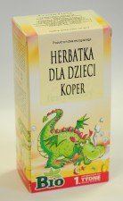 APOTHEKE bio herbata dla dzieci KOPER 20szt