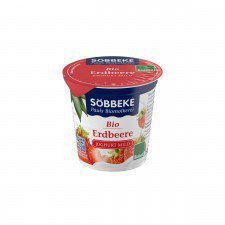 SOBBEKE bio jogurt 3,8% TRUSKAWKA 150g