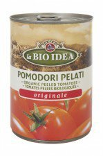 LA BIO IDEA pomidory bez skórki PELATI 400g