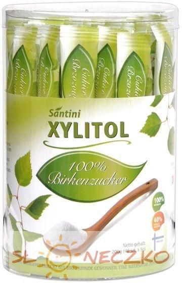 SANTINI cukier brzozowy ksylitol SASZETKI 200g