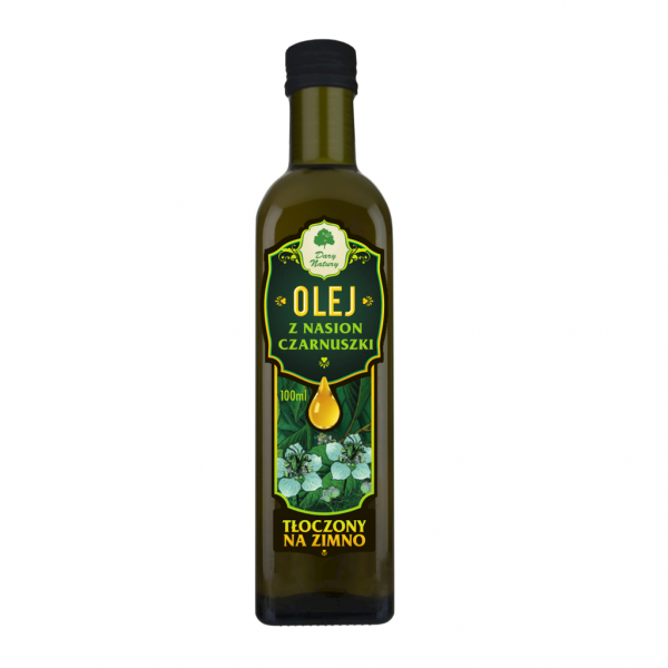 Olej z nasion czarnuszki EKO 0,25l