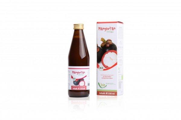 MEDICURA bio sok bez cukru MANGOSTAN 330ml