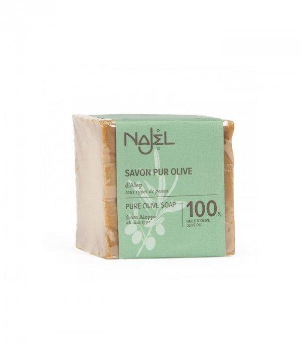 Mydło z Aleppo, 100% oliwkowe, 200 g, Najel