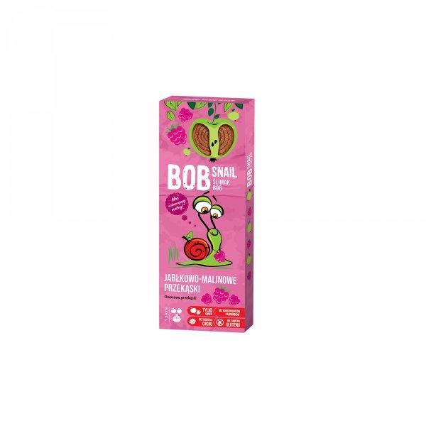 PPrzekąska jabłkowo-malinowa z owoców bez dodatku cukru 30 g Bob Snail