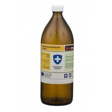 DMSO. Dimetylosulfotlenek szklana butelka 1kg