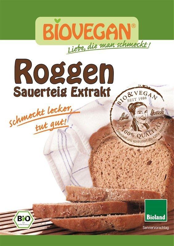 BIO VEGAN bio zakwas chlebowy ŻYTNI 30g