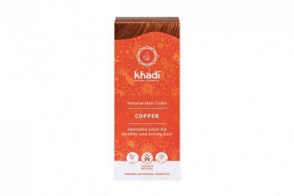 Henna do włosów Khadi - Miedziana 100g