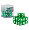CITADEL - Kostki Dice Cube - zielone